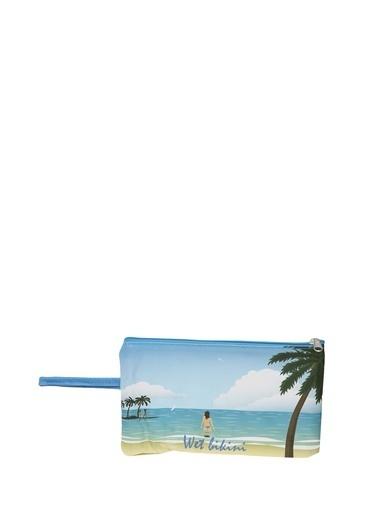 T-Box Plaj Çantası Mavi